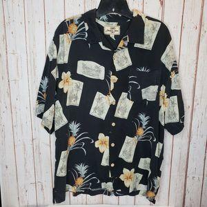 Jamaica Jaxx Button Short Sleeve Hawaiian Shirt